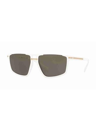Versace Versace 4363 401/3 Unisex Güneş Gözlüğü Beyaz